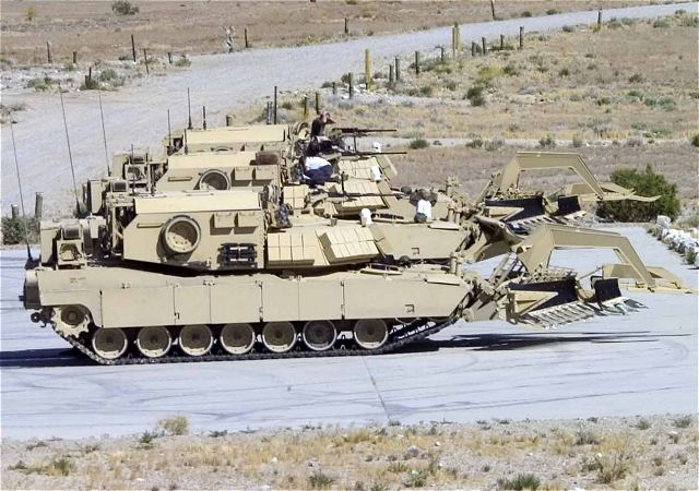 ABV Assault Breacher Vehicle engineer armoured vehicle tank data sheet description information intelligence identification pictures photos images US Army United States American