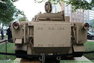 Expeditionary Light Tank ELT BAE Systems air deployable airborne vehicle US American defense industry rear view 002