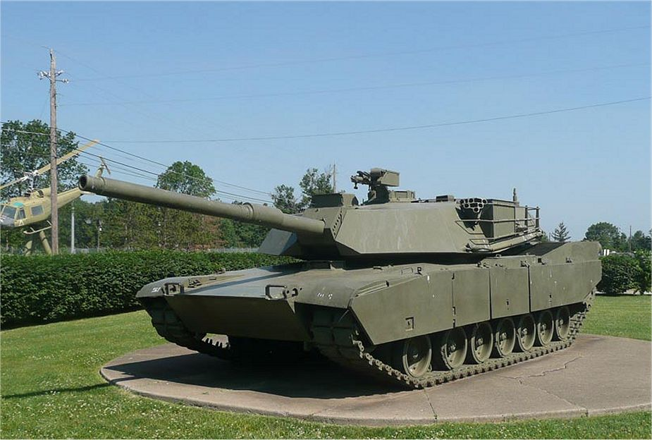 M1 Abrams main battle tank US United States army American defense industry 925 001