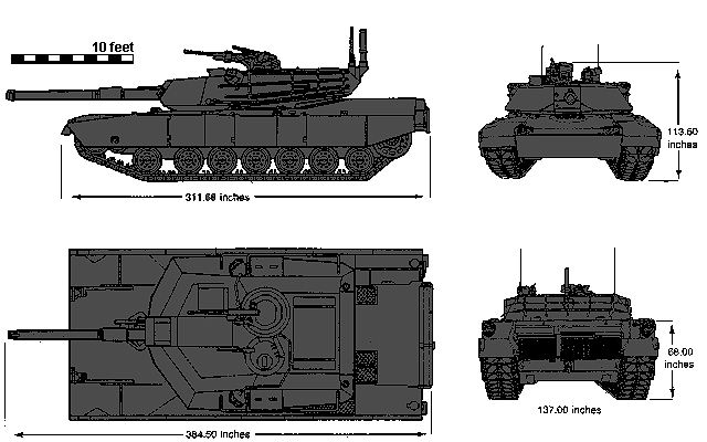 M1 Abrams main battle tank technical data sheet specifications information description intelligence identification pictures photos images video information U.S. Army United States American defence industry military technology