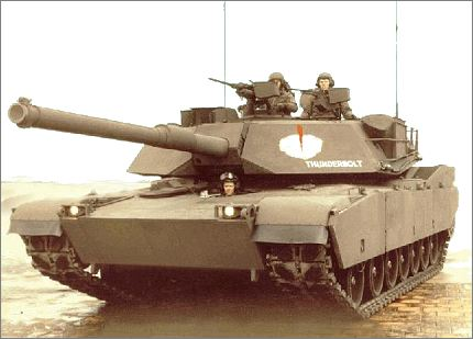 M1 Abrams main battle tank technical data sheet specifications ...