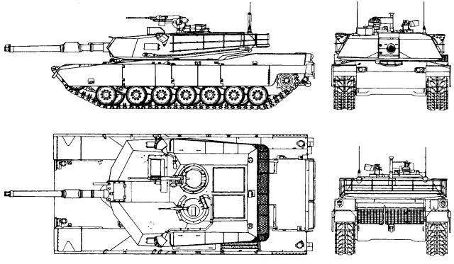 m1a2 abrams mbt main battle tank technical data pictures