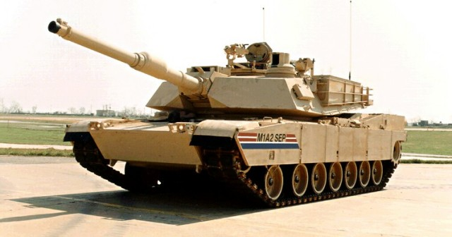 M1A2 SEP main battle tank technical data sheet specifications information description intelligence identification pictures photos images video information U.S. Army United States American defence industry military technology