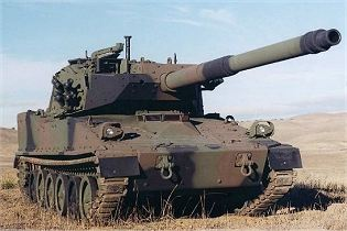 M8 AGS light armoured gun system tank technical data sheet specifications information description intelligence identification pictures photos images video information U.S. Army United States American defence industry military technology