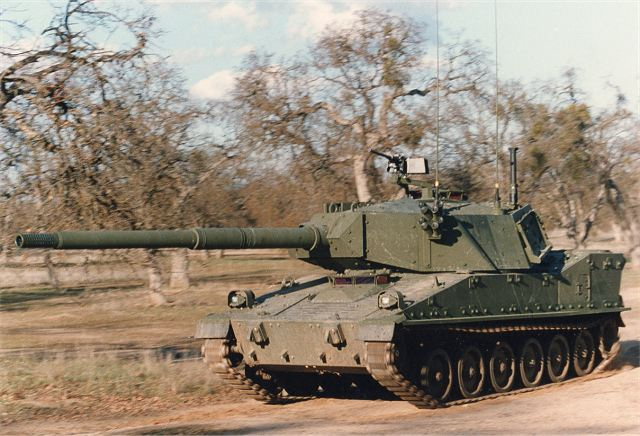 The M8 Armored Gun System is a light tank that was intended to replace the M551 Sheridan in the 82nd Airborne Division, as well as being expected to replace TOW-equipped Humvees in the 2d Armored Cavalry Regiment (2nd ACR).