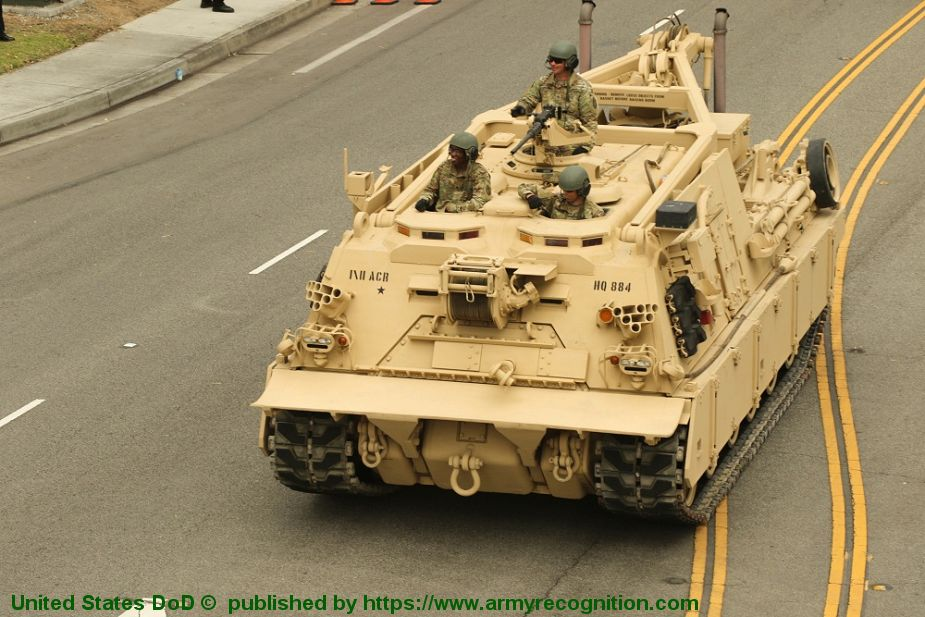 M88A2 HERCULES Heavy Equipment Recovery Combat Utility Life Evacuation System armoured vehicle US Army 925 001