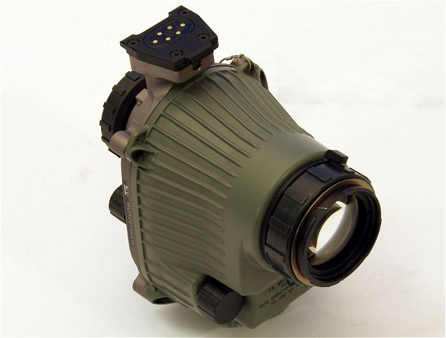AN PSQ-20A F6024 SENVG Spiral Enhanced Night Vision Goggle monocular US United States army defense industry 640 001