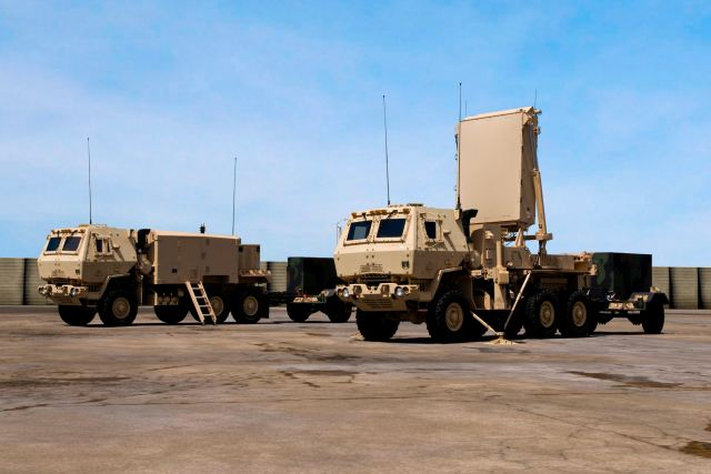AN/TPQ-53 Q-53 counterfire target acquisition radar system ...