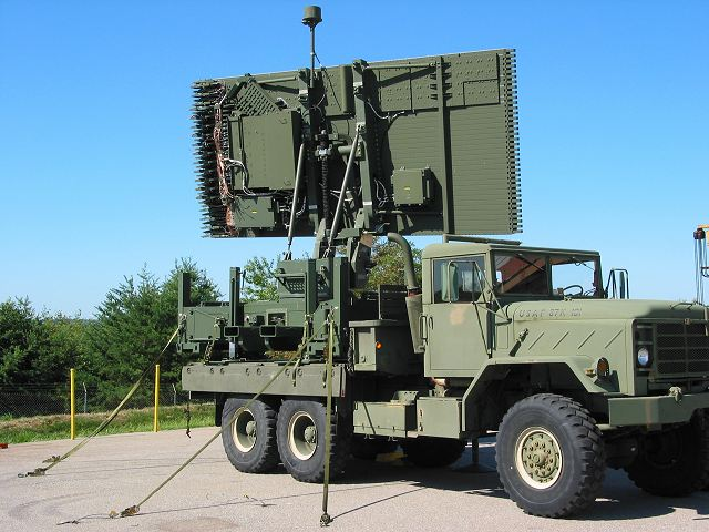 An Tps Solid State Tactical Mobile Radar System Lockheed Martin United States American Defence Industry