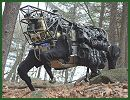 Military researchers working for the Pentagon have released video footage of one of its newest projects, the Legged Squad Support System LS3, and are touting the creation as a cyborg-style animal-drone that will aid troops across a variety of terrains.