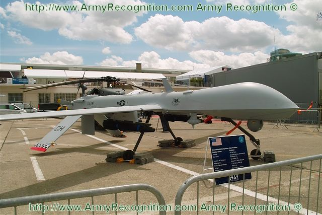 MQ 1 Predator Unmanned Aerial Vehicle UAV Data Sheet Specifications Information Description Intelligence Identification Pictures