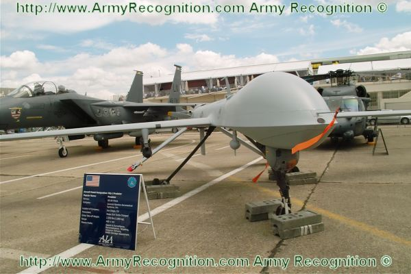 MQ-1 Predator unmanned aerial vehicle UAV data pictures video | US
