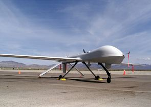 RQ-1 Predator unmanned aerial vehicle UAV data sheet specifications information description intelligence identification pictures photos images US Army United States American defence industry Law enforcement homeland security vehicle
