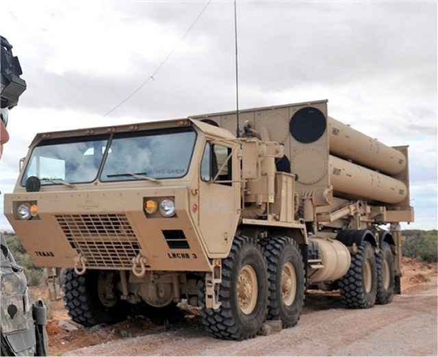 Thaad Terminal High Altitude Area Defense Missile System