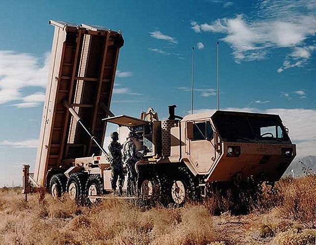 Lockheed Martin delivered the first two Terminal High Altitude Area Defense (THAAD) Missiles to the U.S. Army, capping off years of planning and development.