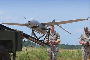 Aerosonde UAS Unmanned Aerial System Textron technical data sheet specifications information description intelligence identification pictures photos images video information U.S. Army United States American defence industry military technology