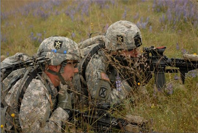 U S Army Heavy Mortar Platoon : U s army soldiers conducted mortar live fire