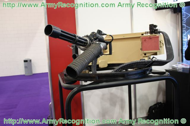 Dillon m134d gatling gun high rate machine gun