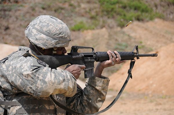 The United States Army is looking for a better rifle. It is asking manufacturers to come up with a new weapon to replace the M4 carbine, an upgraded version of the famous M16 - the rifle carried by American soldiers for the last 50 years.