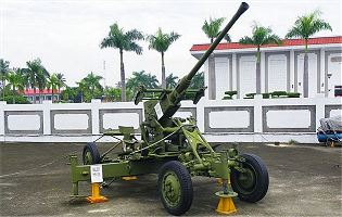 M1 40mm Bofors technical data sheet specifications information description intelligence identification pictures photos images video US Army United States American Lockheed Martin defence industry military technology