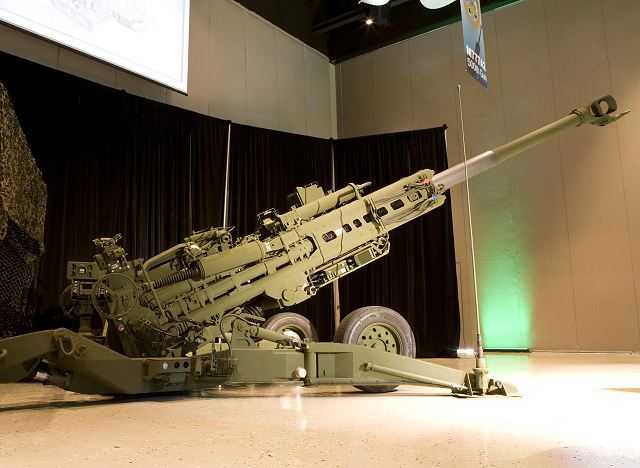M777 ultra light howitzer data sheet description information intelligence identification pictures photos images US Army United States American defense BAE Systems