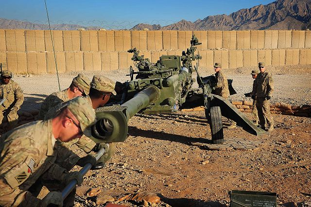 The M777 A2 is a towed 155mm artillery piece that fires High Explosive, Illumination and GPS guided Excalibur rounds.