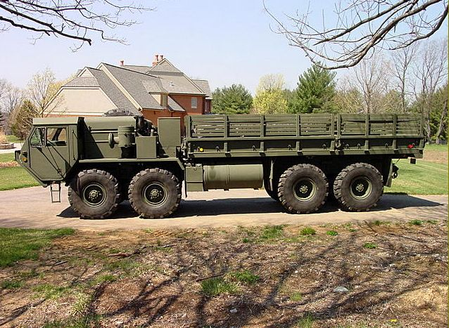 M977 A2 Hemtt Oshkosh Heavy Expanded Mobility Tactical