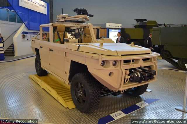 At Eurosatory 2014, General Dynamics European Land Systems (GDELS), in partnership with the Dutch companies, widens its wheeled vehicles product portfolio by adding Light Tactical Vehicles in a weight class less than 5 tons and unveils the AATV (All-Transportable Tactical Vehicle) family of vehicles.