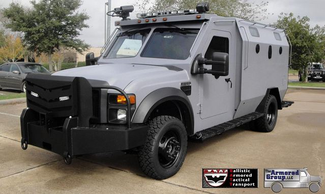 Armored Group Launches Its New Ballistic Armored Tactical
