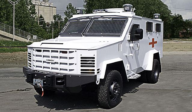 "Lenco Industries, Inc., the global leader in the design and manufacture of armored police vehicles, introduces the BearCat® MedEvac LE and BearCat® MedEvac MIL armored tactical vehicles. The LE version of the ""MedCat"" was designed to meet the combined requirements of SWAT and Tactical EMS teams, while the Military model was designed specifically for Tactical Combat Casual Care (TC3) within the defense sector."
