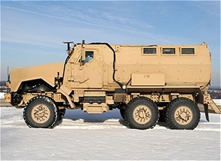 Caiman MTV MRAP BAE Systems multi theater mine resistant protected vehicle United States American left side view 450 001