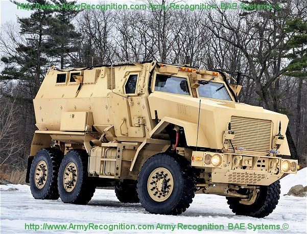 Caiman Mtv Mrap Bae Systems Multi Theater Armoured Vehicle