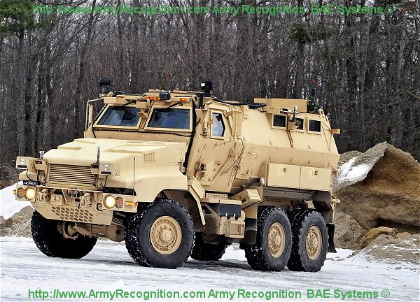 Caiman MTV MRAP BAE Systems Multi-Theater armoured vehicle