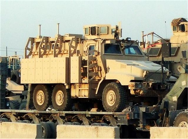 caiman plus 6x6 cat i xm 1230 mrap technical data sheet rh armyrecognition com Husky MRAP MaxxPro MRAP