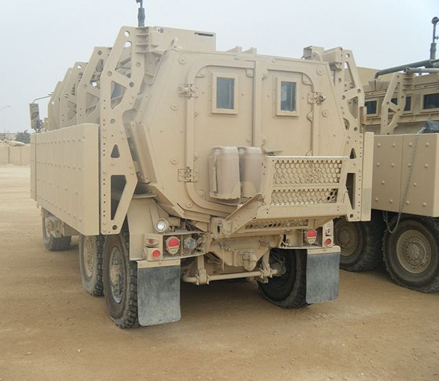 caiman plus 6x6 cat i xm 1230 mrap technical data sheet rh armyrecognition com Husky MRAP Buffalo Mine Protected Vehicle