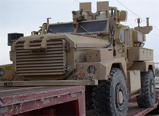 Cougar H 4x4 MRAP Cat I personnel carrier technical data sheet specifications information description intelligence identification pictures photos images US Army United States American Force protection defence industry military technology Mine Resistant Ambush Protected