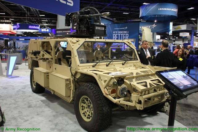 Flyer 60 5 man 4x4 Lightweight Tactical Vehicles General Dynamics AUSA 2015 640 001
