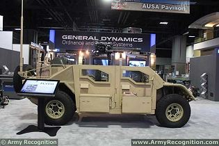 Flyer ALSV Advanced Light Strike Vehicle ITV technical data sheet specifications information description intelligence identification pictures photos images video information General Dynamics U.S. Army United States American defence industry military technology