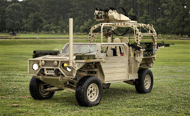 Gmv Ground Mobility Vehicle 1 1 Special Forces Technical