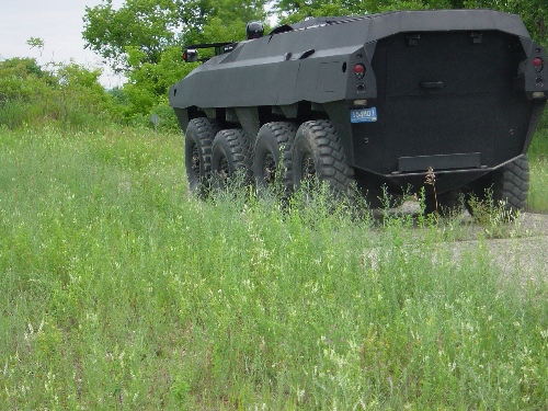 GPV 8x8x8 colonel wheeled armoured vehicle personnel carrier