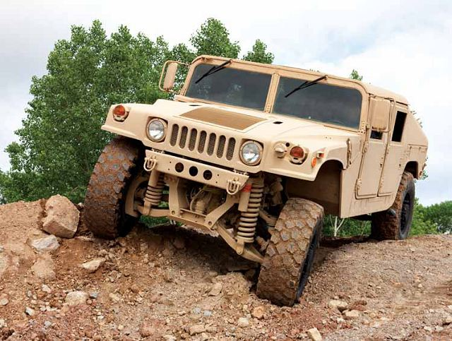 """We've developed an upgraded HMMWV using our battle-tested TAK-4® independent suspension system to give Marines improved mobility, survivability and ride quality."""