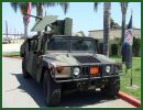 M1043A2 HMMWV Humvee light multirole tactical vehicle technical data sheet specifications information description intelligence identification pictures photos images US Army United States American defence industry military technology
