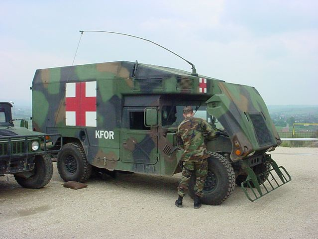 M997A2 Humvee ambulance technical data pictures video