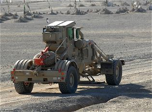 Husky Chubby System mine IEDs detection clearing vehicle technical data sheet specifications information description intelligence identification pictures photos images video information US U.S. Army United States American defence industry military technology