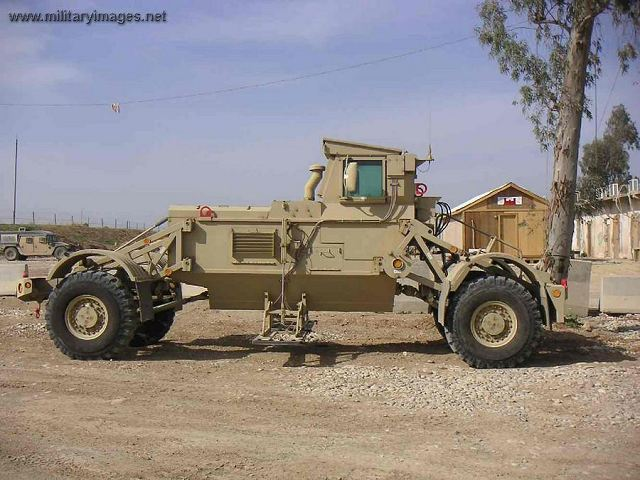 High Country Motors >> Husky Chubby System mine IEDs detection clearing vehicle technical data sheet specifications picture