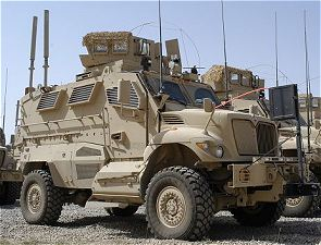International MaxxPro Navistar MRAP mine protected vehicle data sheet specifications information description intelligence identification pictures photos images US Army United States American defense military Force Protection