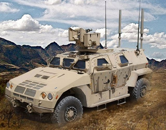 BAE Systems JLTV Joint Light Tactical Vehicle