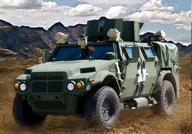 General Dynamics JLTV Joint Light Tactical Vehicle