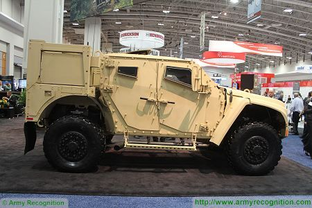 L ATV light wheeled combat vehicle United States American defence industry right side view 450 001