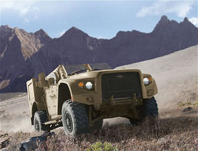 L-ATV JLTV Oshkosh light combat tactical all-terrain ...